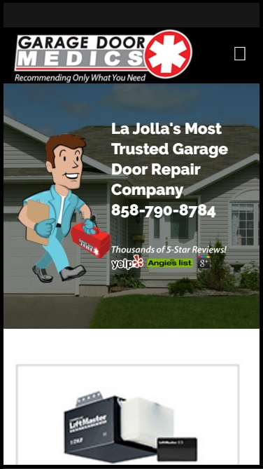 garage door medicsGarage Door Medics  Fused WordPress Marchex  Google Analytics
